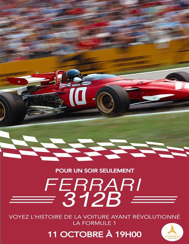 Ferrari 312B (v.o.a.s.-t.f.) Large Poster