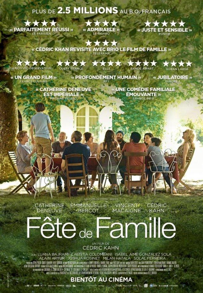 Fête de famille Large Poster