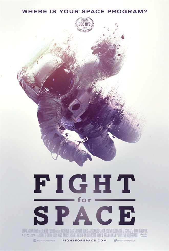 Fight for Space Large Poster