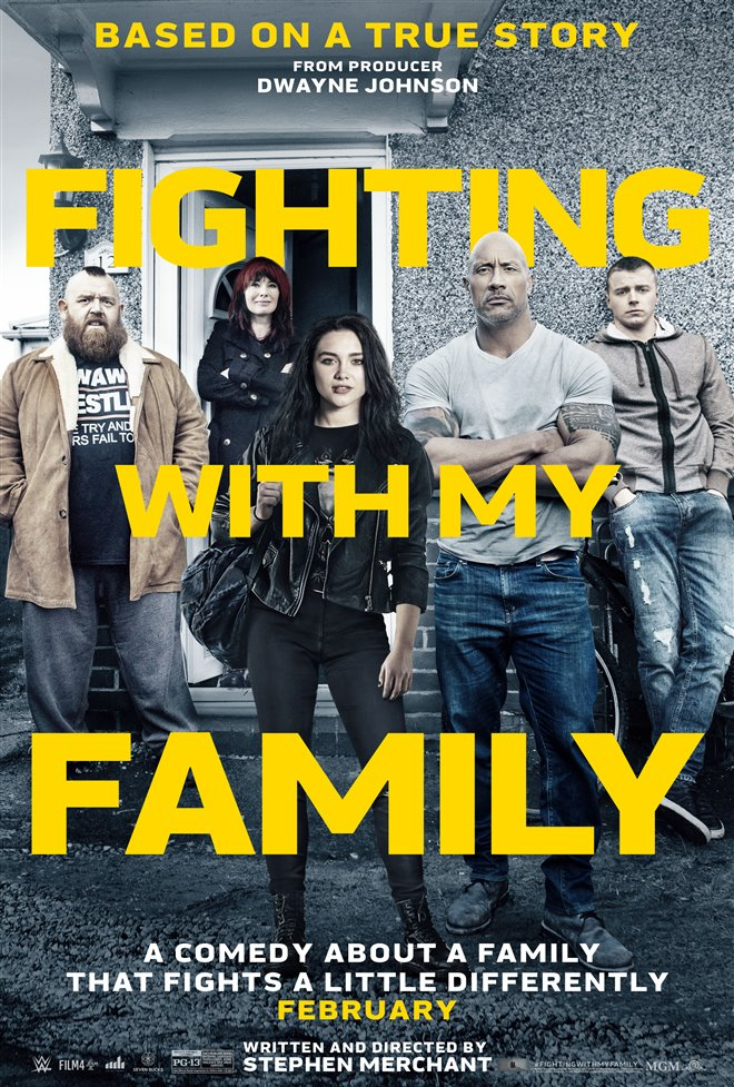 Fighting With My Family Large Poster