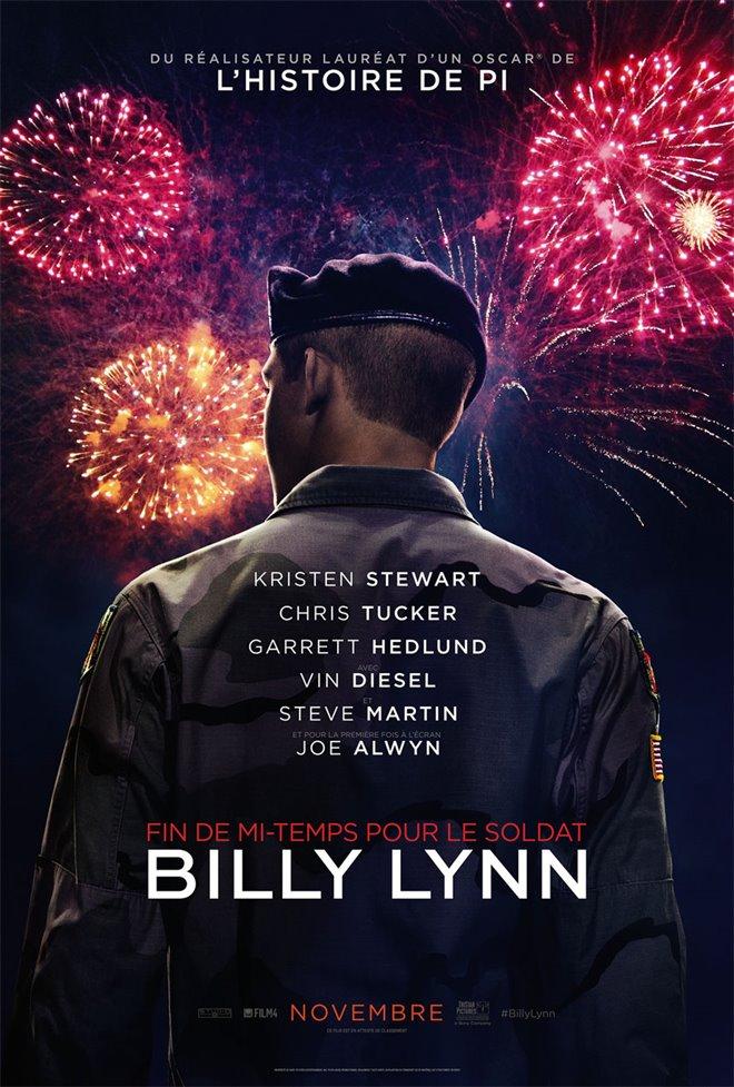 Fin de mi-temps pour le soldat Billy Lynn Large Poster