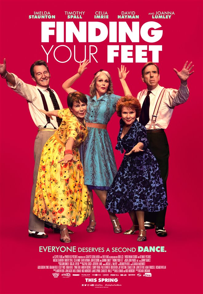 Finding Your Feet Large Poster