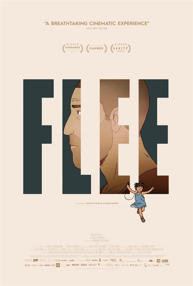 Flee Large Poster