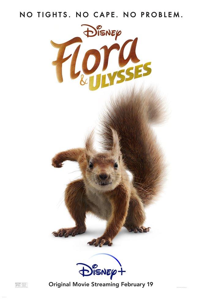 Flora & Ulysses (Disney+) Large Poster
