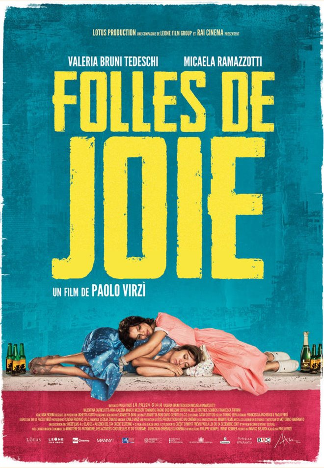 Folles de joie Large Poster
