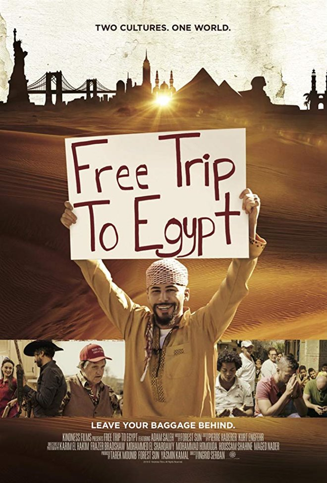 Free Trip to Egypt Large Poster