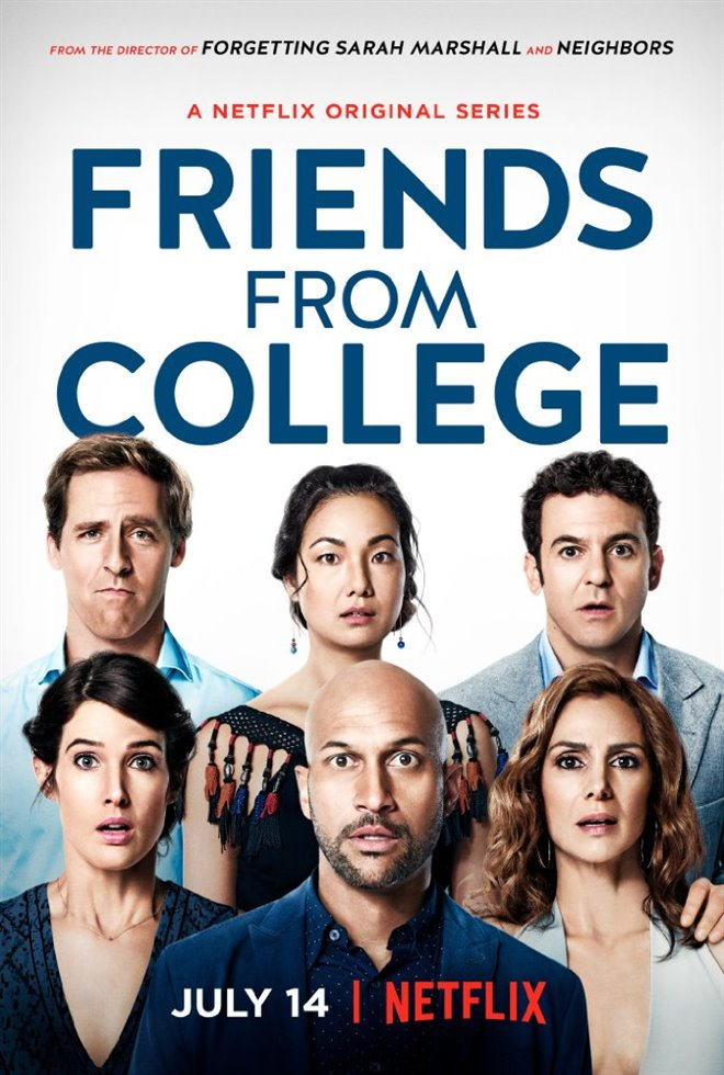 Friends from College (Netflix) Large Poster