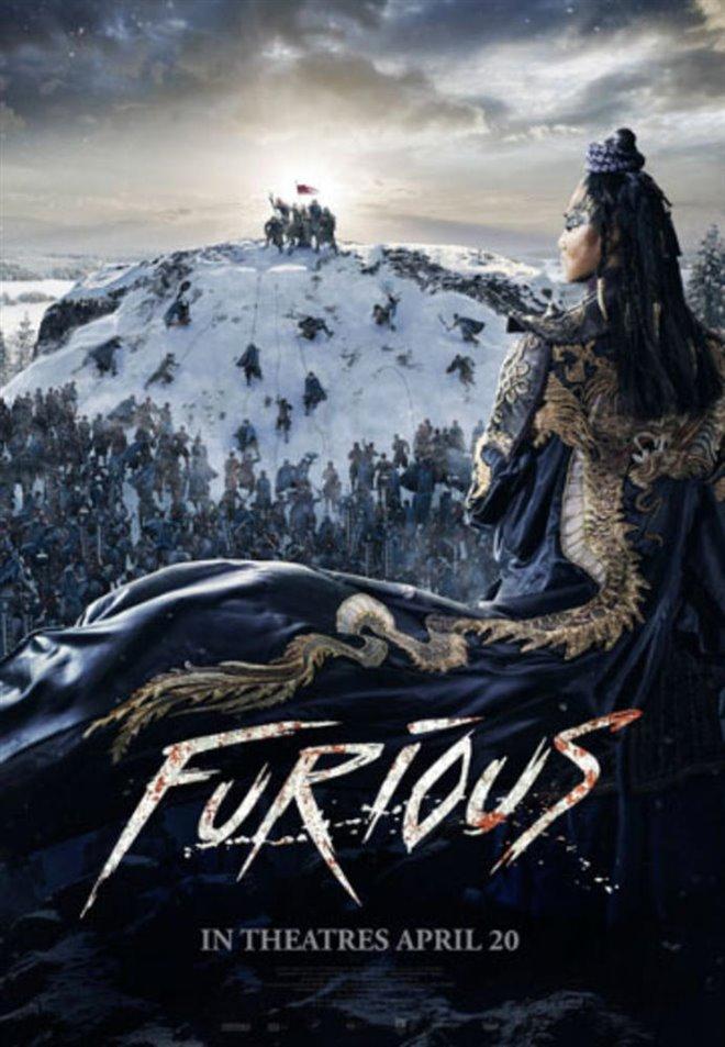 Furious (v.o.a.) Large Poster