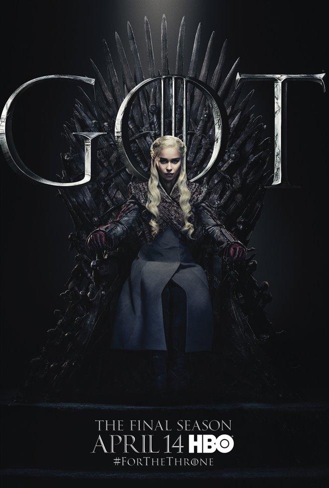 Game of Thrones: Season 8 Large Poster