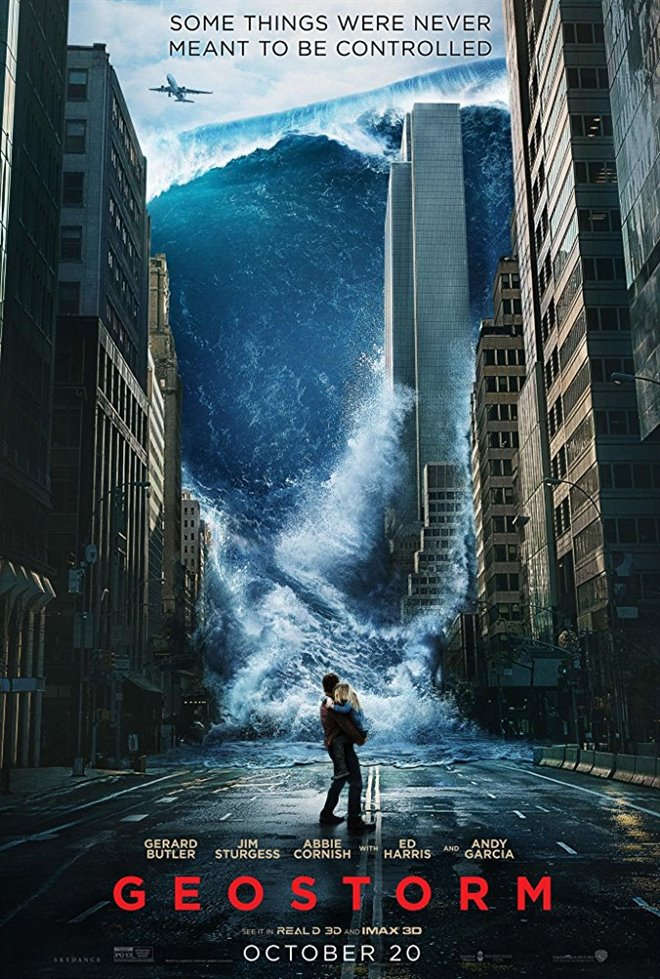 Geostorm Large Poster