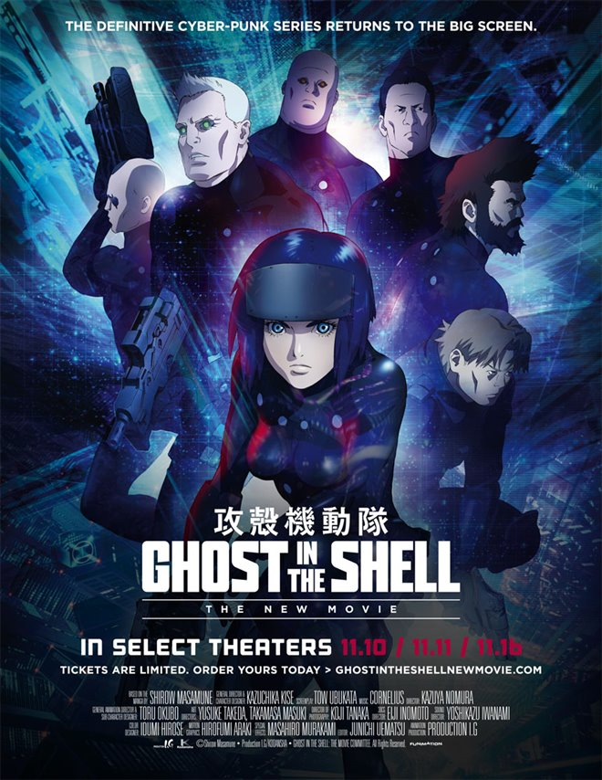 Ghost in The Shell: The New Movie Large Poster