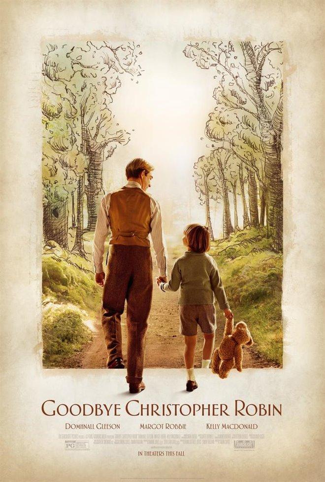 Goodbye Christopher Robin (v.o.a.) Large Poster