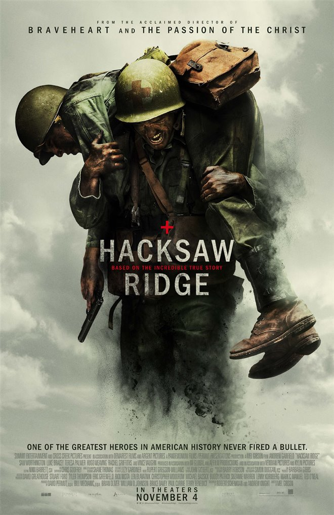 Hacksaw Ridge Large Poster