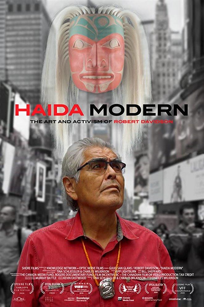 Haida Modern Large Poster