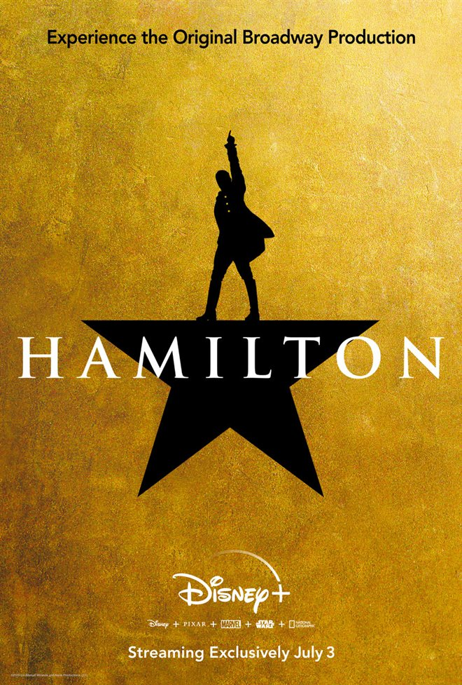 Hamilton (Disney+) Large Poster