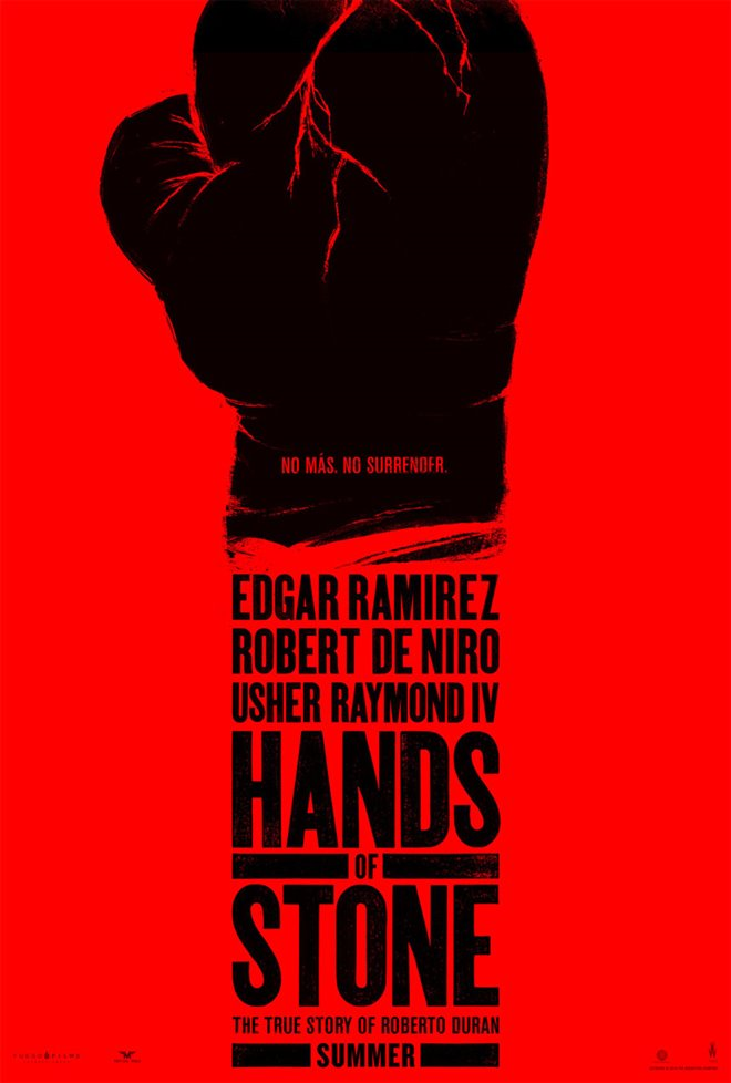 Hands of Stone Large Poster