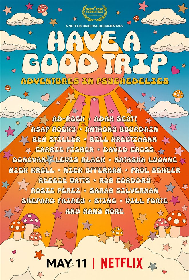 Have a Good Trip: Adventures in Psychedelics (Netflix) Large Poster
