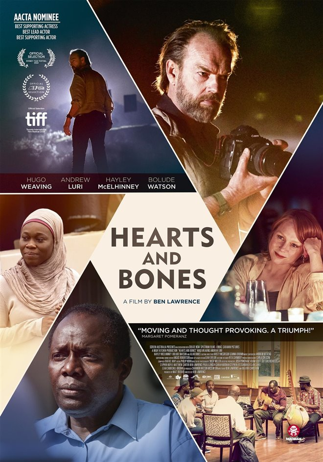 Hearts and Bones Large Poster