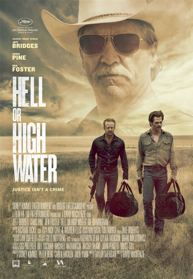 Hell or High Water Large Poster