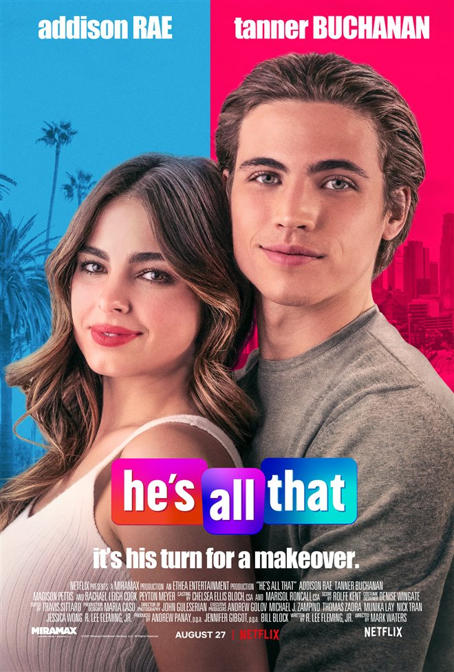 He's All That (Netflix) Large Poster