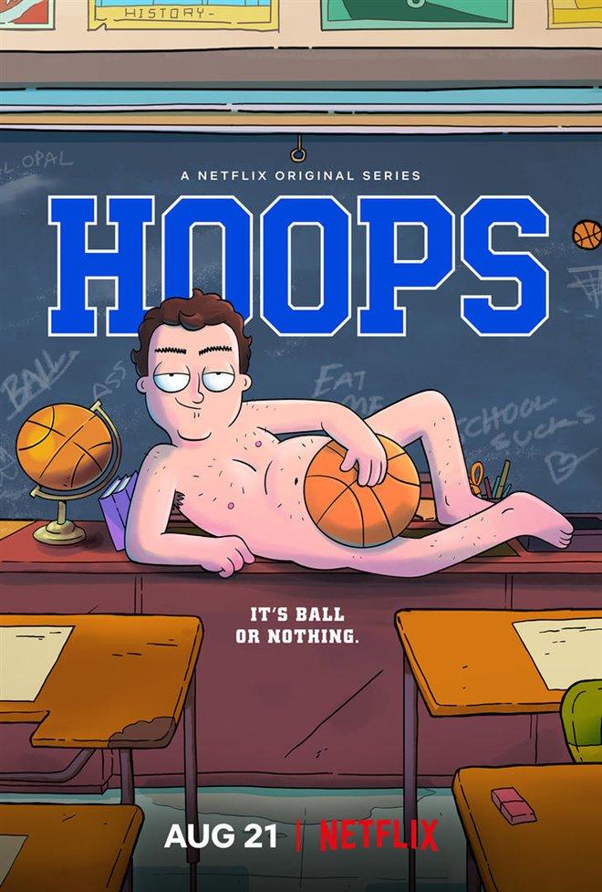 Hoops (Netflix) Large Poster