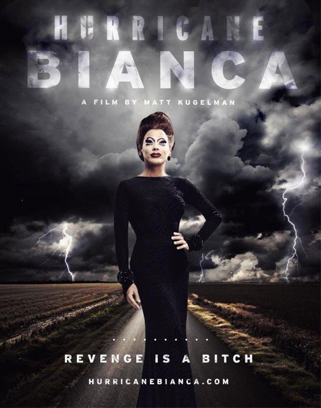 Hurricane Bianca Large Poster