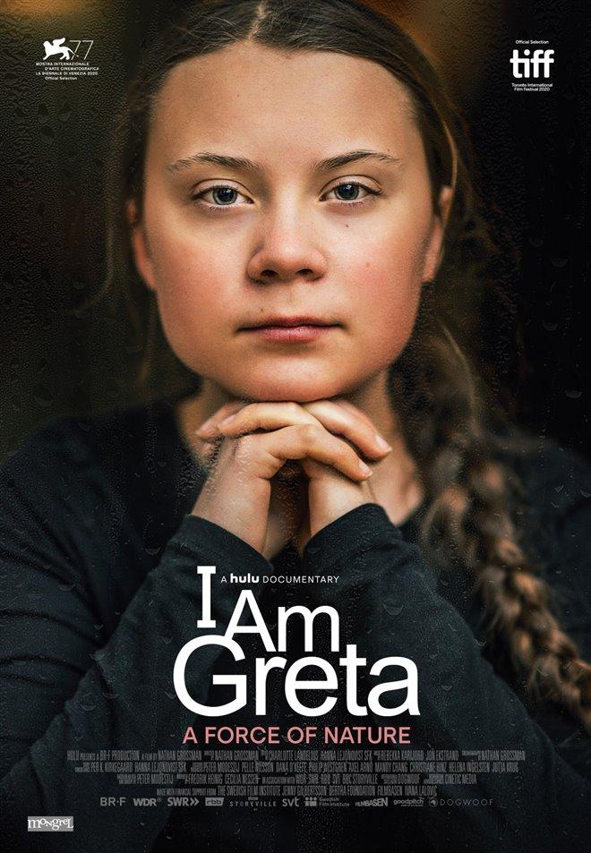 I Am Greta Large Poster