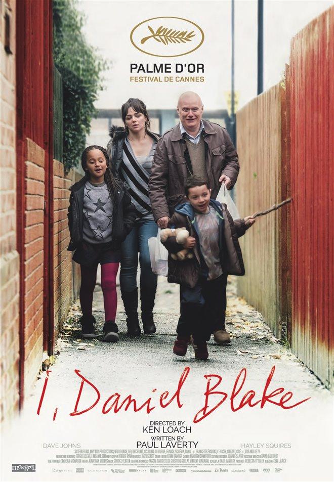 I, Daniel Blake Large Poster