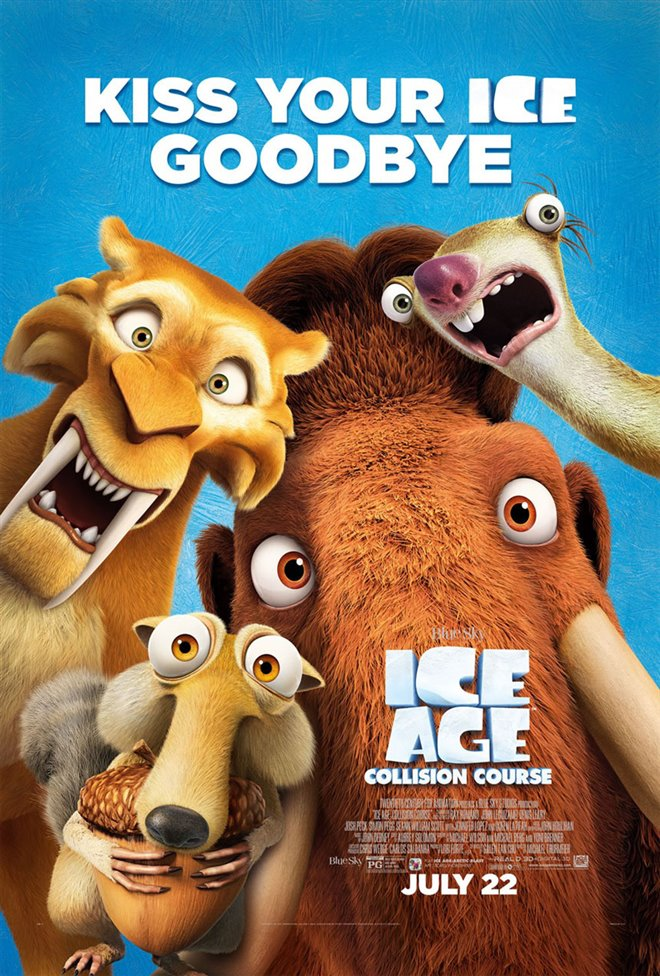 Ice Age: Collision Course Large Poster