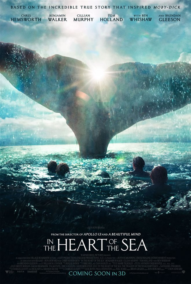 In the Heart of the Sea Large Poster