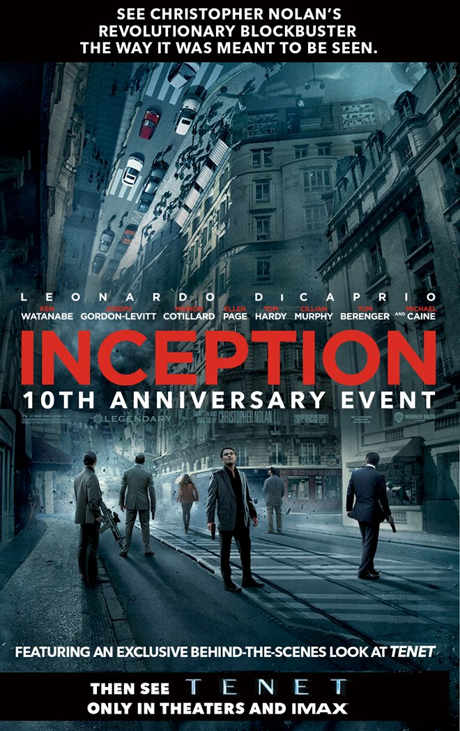 Inception: 10th Anniversary Event Large Poster