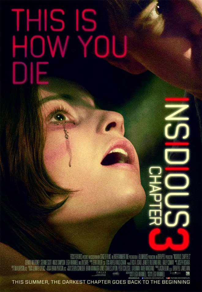 Insidious: Chapter 3 Large Poster