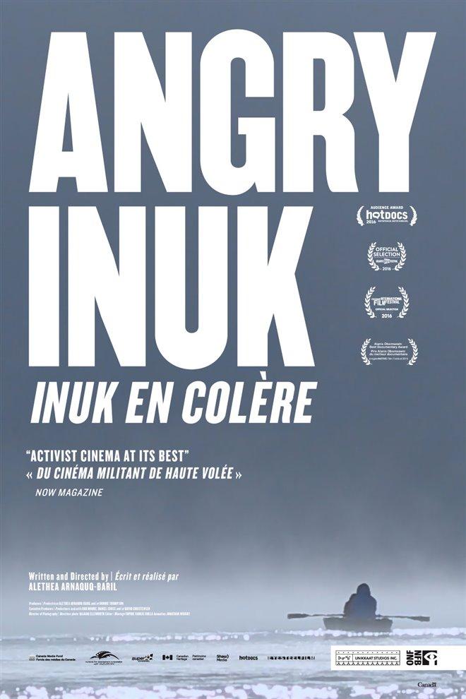Inuk en colère Large Poster