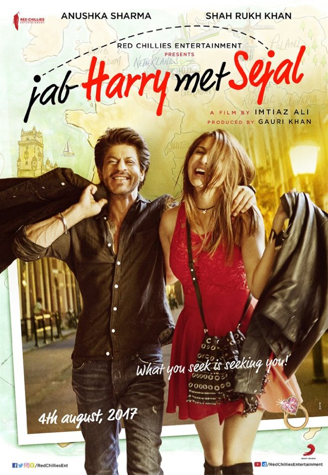 Jab Harry Met Sejal Large Poster