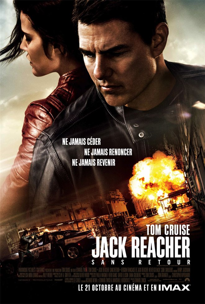 Jack Reacher : Sans retour Large Poster