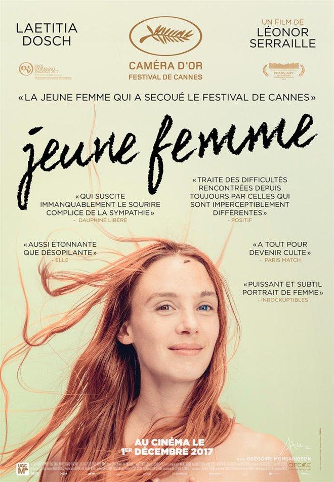 Jeune femme Large Poster