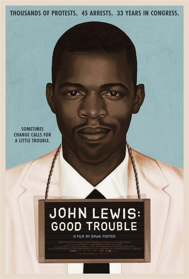 John Lewis: Good Trouble Large Poster
