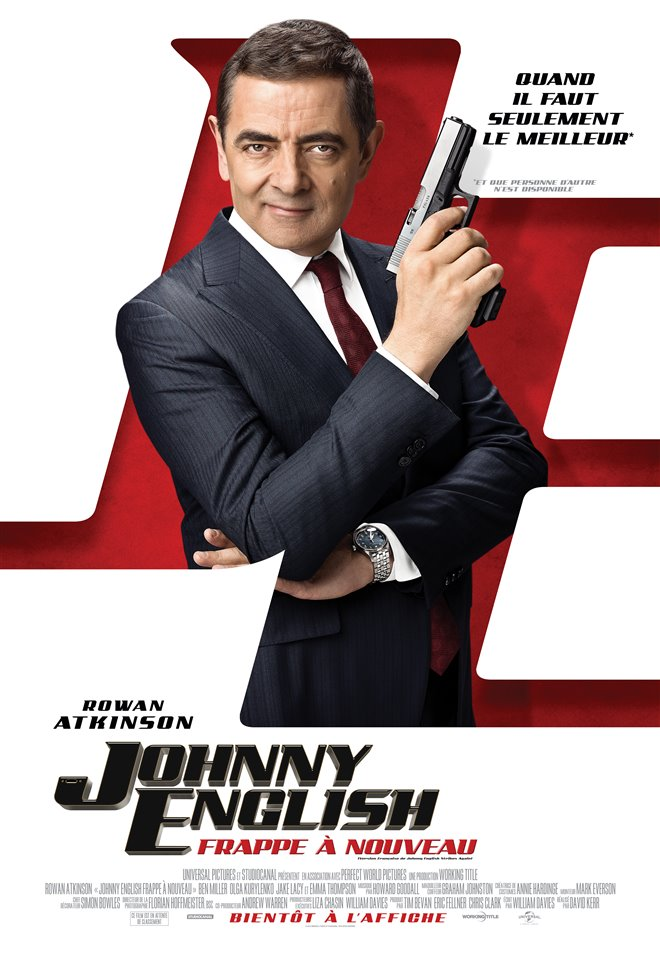 Johnny English frappe à nouveau Large Poster