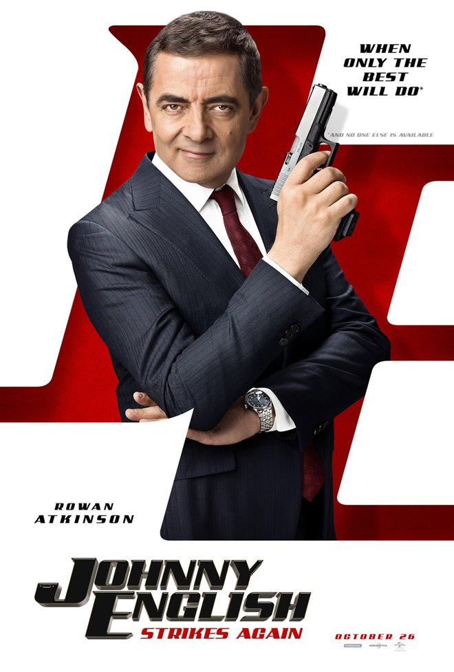 Johnny English Strikes Again Large Poster