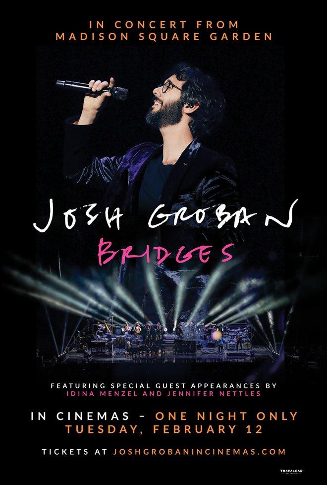 Josh Groban Bridges from Madison Square Garden Large Poster