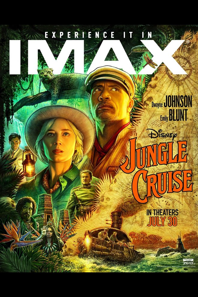 Jungle Cruise: An IMAX 3D Experience Large Poster