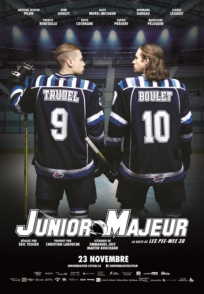 Junior Majeur Large Poster
