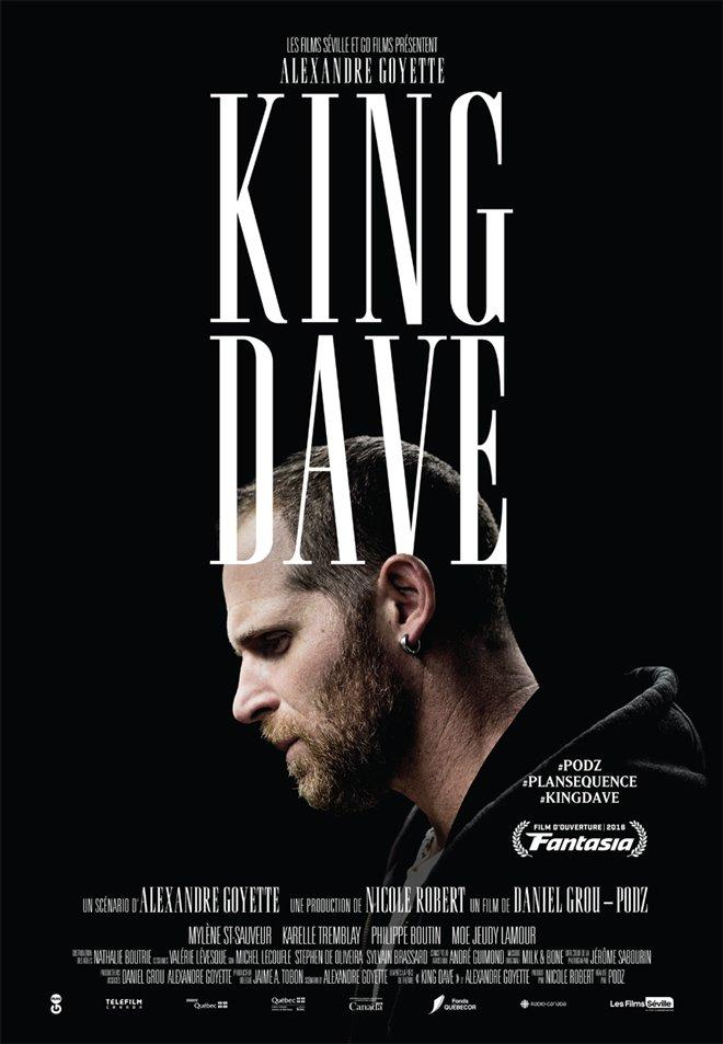 King Dave (v.o.f.) Large Poster