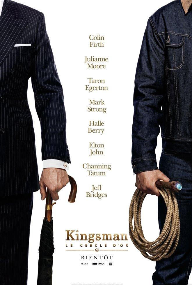 Kingsman : Le cercle d'or Large Poster