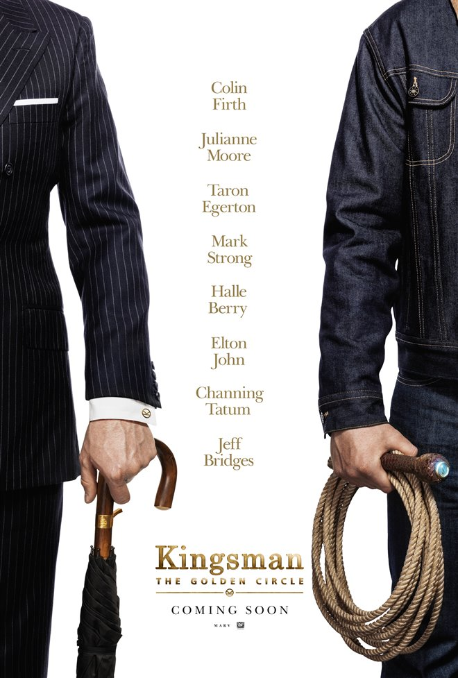 Kingsman: The Golden Circle Large Poster