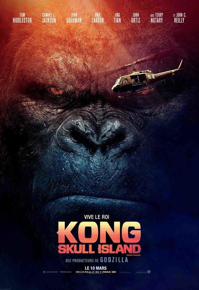 Kong : Skull Island (v.f.) Large Poster