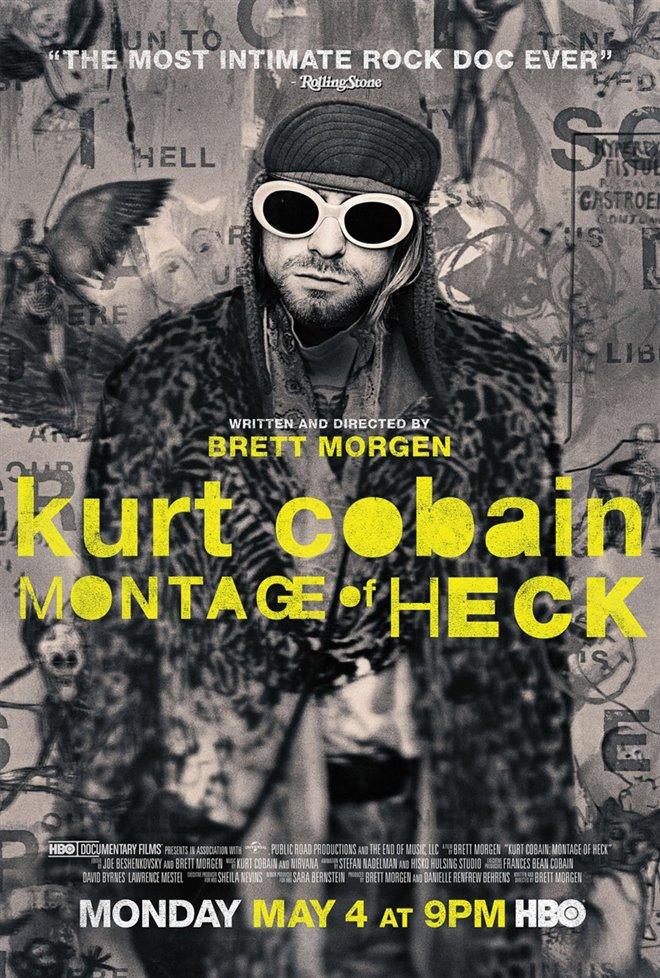 Kurt Cobain: Montage of Heck Large Poster