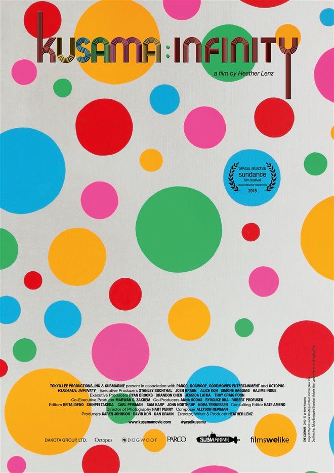 Kusama: Infinity Large Poster