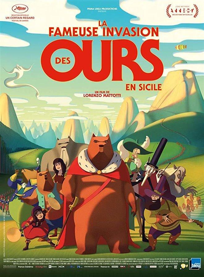 La fameuse invasion des ours en Sicile Large Poster