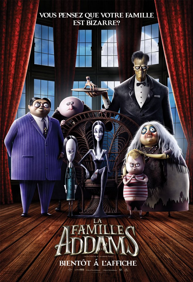 La famille Addams Large Poster